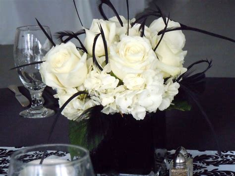 black and white floral centerpieces 1000 images about floral arrangements on pinterest white flowers feathers and centerpiece ideas