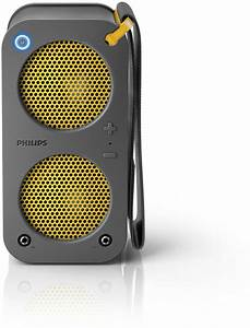 Lautsprecher Mit Bluetooth : tragbarer bluetooth lautsprecher mit akku sb5200g 10 philips ~ Orissabook.com Haus und Dekorationen
