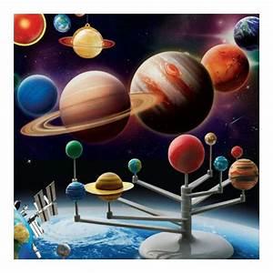 Planetarium Diy Solar System Model Kit Astronomy Science Project Kids Toy Gift