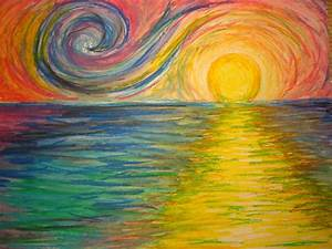 Oil Pastel Paintings For Beginners - Great Drawing