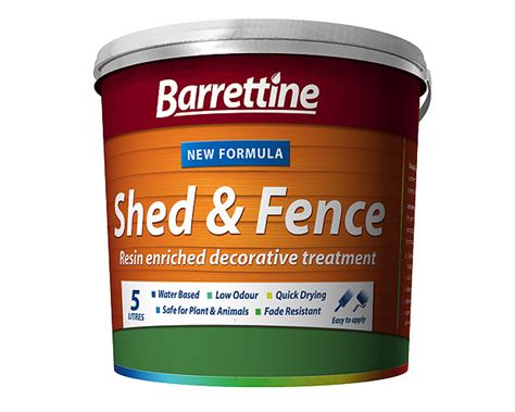 Shed Treatment Products by Shed Fence Treatment All Colours 5ltr