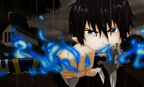 Blue Anime Wallpaper - blue exorcist wallpapers backgrounds