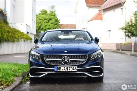 There are two main things that distinguish the s560 4matic from its more powerful sibling, the s650; Mercedes-Maybach S 650 A217 - 12 July 2017 - Autogespot