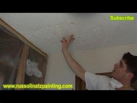 Skim Coat Popcorn Ceiling diy ceiling repair skim coat over a painted popcorn