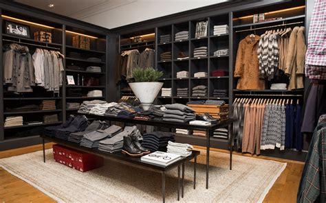mens apparel fashion stores interior design boutique