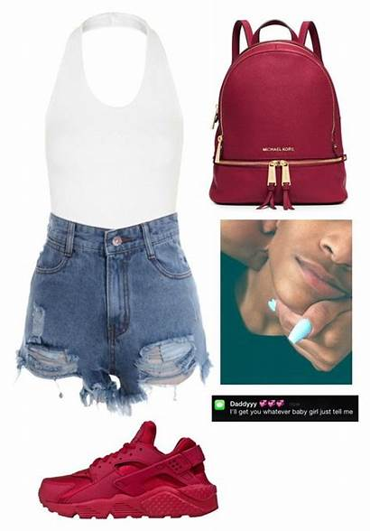 Outfits Summer Swag Polyvore Dope Clothes Clothing