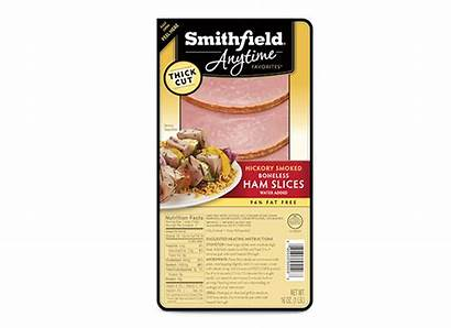 Ham Smithfield Slices Thick Boneless Cut Smoked