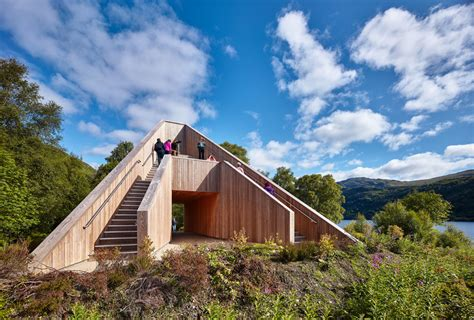 The Pyramid Viewpoint  Bte Architecture Archdaily