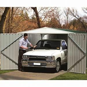 Garage En Anglais : garage 17 88m en m tal hervey absco finition zincalume vert anglais ~ Medecine-chirurgie-esthetiques.com Avis de Voitures