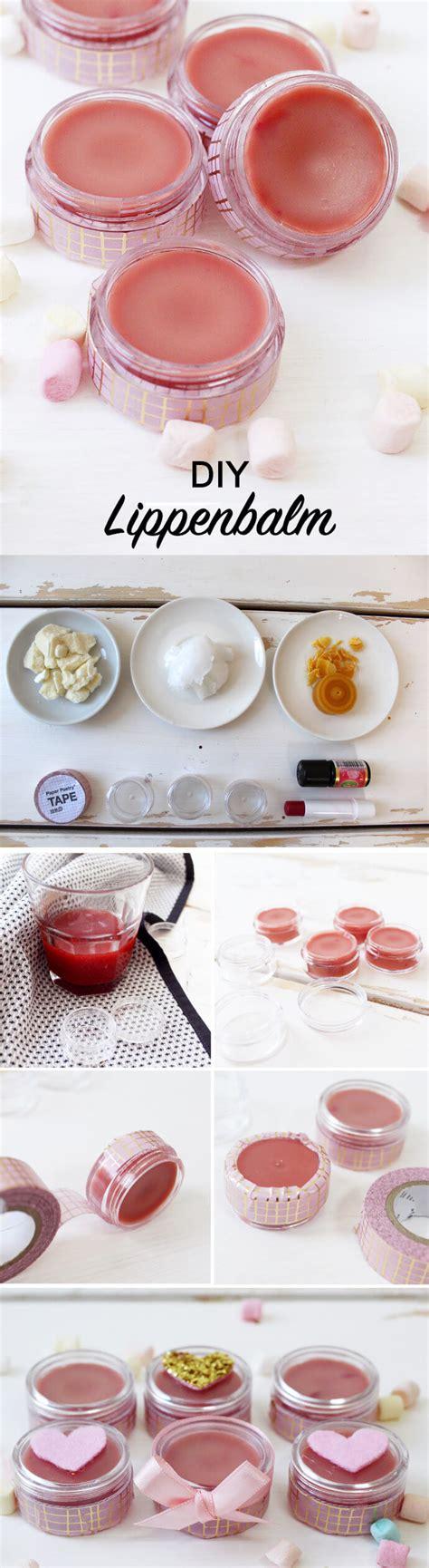 lippenbalsam selber machen kokosöl diy lippenbalsam aus sheabutter selber machen tolle geschenkidee