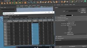 Task Spreadsheet The Power Of The Attribute Spreadsheet In Maya Lesterbanks