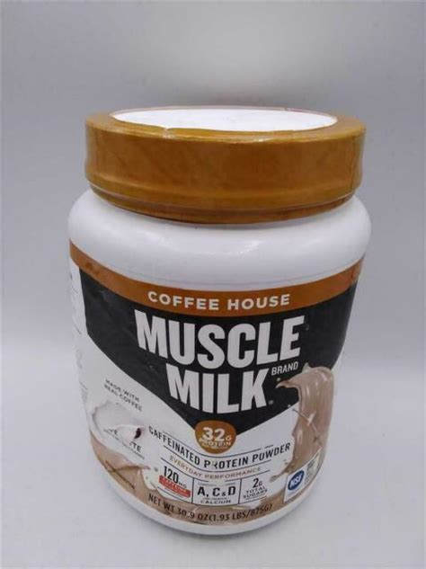 Any additional pictures are suggested servings only. Muscle Milk Coffee House Caffeinated Protein Powder, Mocha Latte 30.9 oz | eBay