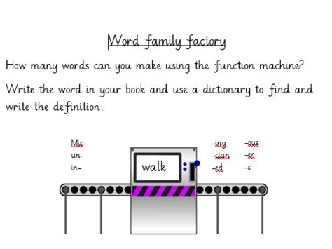 word families worksheets year 3 introduction to word families year 3 by lrwhaxby