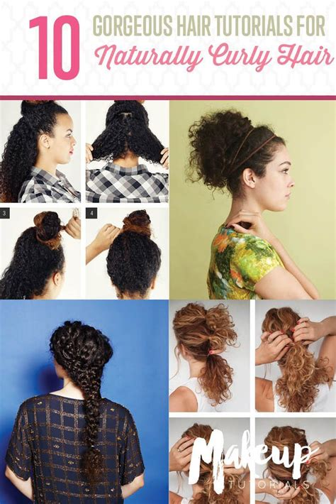 1000 images about diy hairstyles for curly hair on