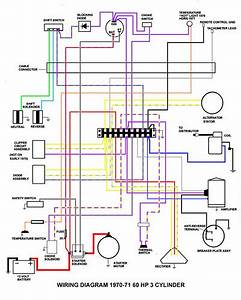 Wiring Diagram 1970 60 John  3 Cyl Electric Page  1