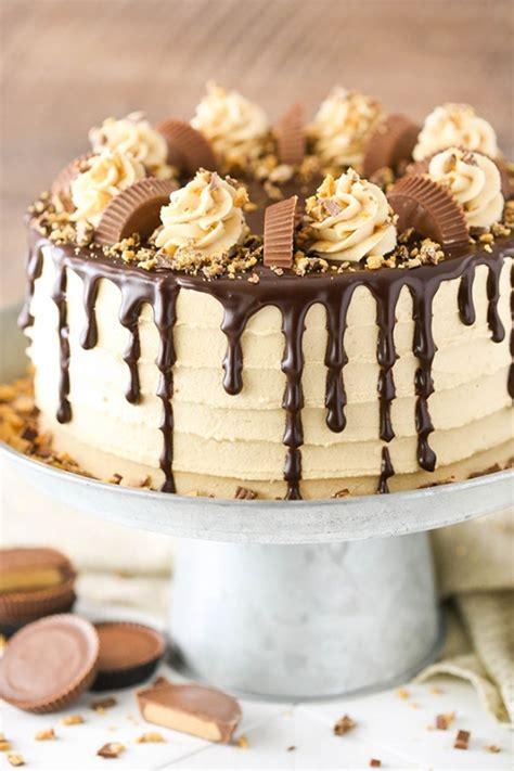 peanut butter chocolate layer cake keeprecipes