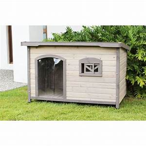 Extra large wooden insulated flat roof dog house buy 30 for Insulated dog house for sale