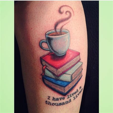Coffee And A Good Book #tattoo  Lion  Pinterest Good