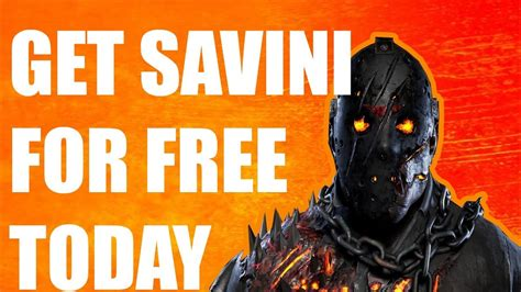 how to get savini jason for free friday the 13th