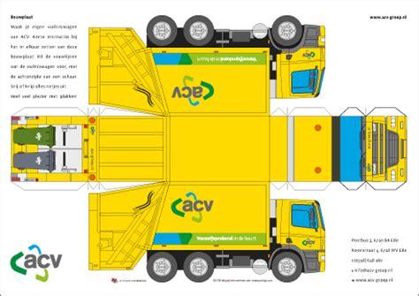 yorlogo bouwplaat vuilniswagen nieuw