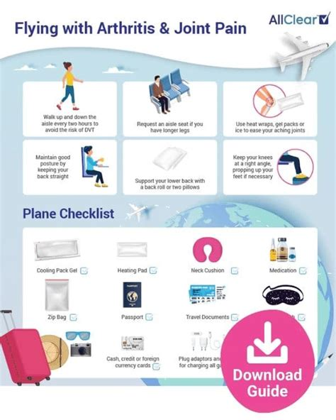 How to Ease Joint Pain While Flying | AllClear Travel Blog