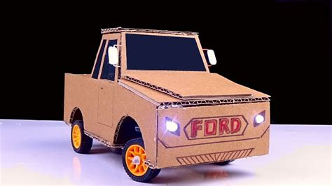 Diy Rc Car Easy How To Make Remote Control Ford Car From