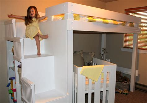 White Furniture Pictures Of Cool Bunk Bed Ideas For Girl