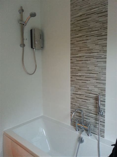 bathroom feature tile ideas complete re fit of a bathroom bathroom feature tiles