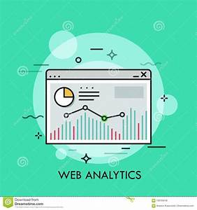 Diagram  Bar Chart And Linear Graph Inside Browser Window
