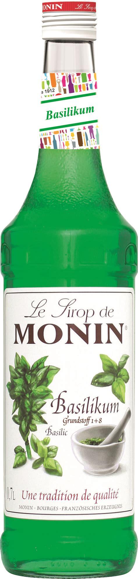 Basilikum  Monin Sirup