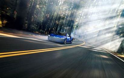 Blur Nsx Motion Acura Road Forest Dual