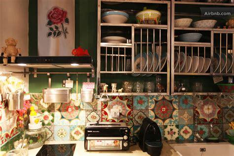 et decoration cuisine deco salon hippie chic