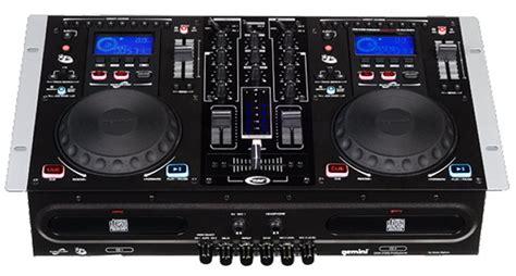 Refurbished Gemini Cdm3700g Pro Dj Dual Cd Player & Mixer