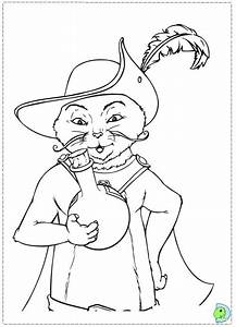 Puss In Boots Coloring Pages Az Coloring Pages