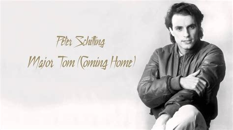 Peter Schilling - Major Tom (Coming Home) (HQ AUDIO) - YouTube