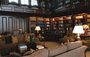 Traditional, Library, Study, And, Great, Room, Decorating, J