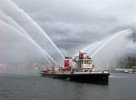 Boat Fire Seattle by 2000 Hp 1927 Seattle Fire Boat