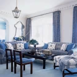 blue livingroom blue and white living room living room design blue white