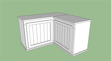 ana white corner shoe bench diy projects