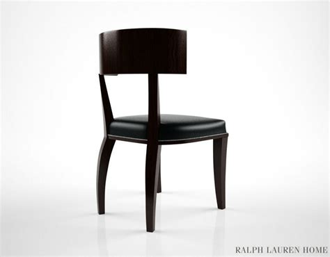 ralph clivedon dining chair 3d model max obj fbx