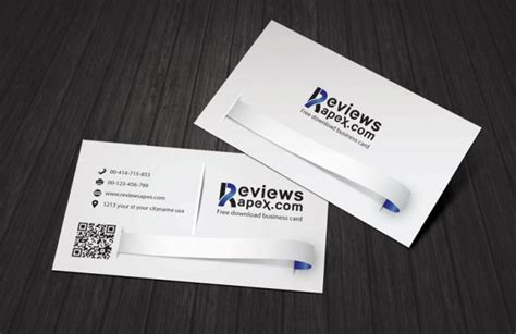 clean business card template free clean white business card template free