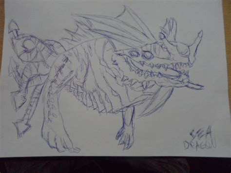 Subnautica Sea Dragon Leviathan By Panzhen3 On Deviantart
