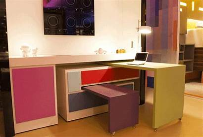 Space Office Modular Apartment Gifs Living Therapy