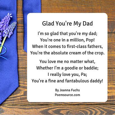 Dad From Daughter to Father Poems