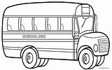 Bus Coloring Pages Drawing Cool2bkids Printable Colouring Preschool Template Sheets Magic Simple Driver Cars Kindergarten Books Craft Safety sketch template