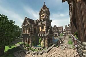 Minecraft City Church by AziasCreations on deviantART ...