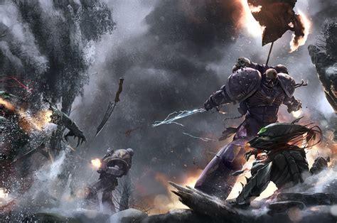 favorite piece   art page  warhammer  eternal crusade official forum