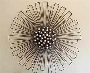 Modern wall decor metal art very luxurious