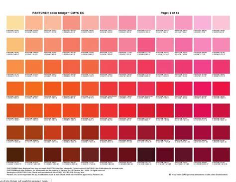pantone color bridge 5 orange pink pantone colour