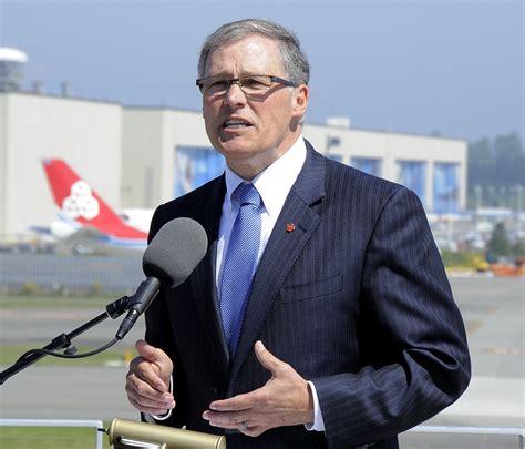 gov inslee lays  vision  aerospace industry geekwire